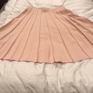 Banana Republic pleated knit skirt.